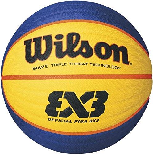 Wilson Fiba 3x3 Game Basketball Wilson Outdoor-Basketball Rauer Untergrund Asphalt Granulat