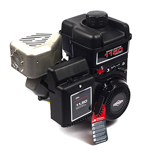 Briggs and Stratton 15T212-0160-F8 1150 Series Intek PowerBuilt 11.50 Gross Torque Engine with A 1-Inch Diameter by 2-7/8-Inch Length Crankshaft, Keyway, and 3/8-24 Tapped (Best Log Splitters For Sale)