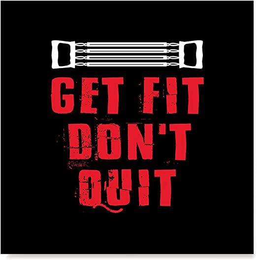 Amazon Com Ezposterprints Gym Fitness Inspiration Motivation Quotes Posters Poster Printing Wall Art Print For Home Office Decor Don T Quit 32x32 Inches Posters Prints