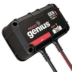 NOCO Genius GENM1 4 Amp 1-Bank Waterproof Smart On