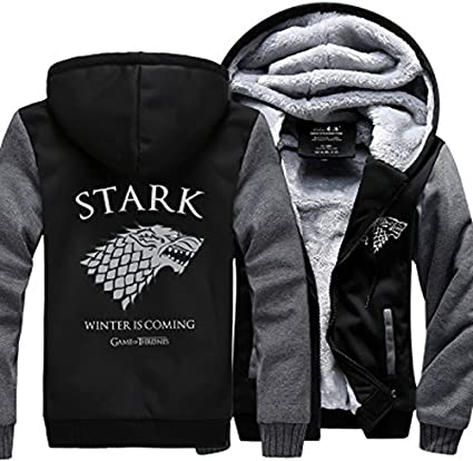 House Stark Winter Is Coming Cotton Hoodie