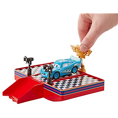 Disney Pixar Cars Wheel Action Drivers Race & Win Playset: Toys & Games