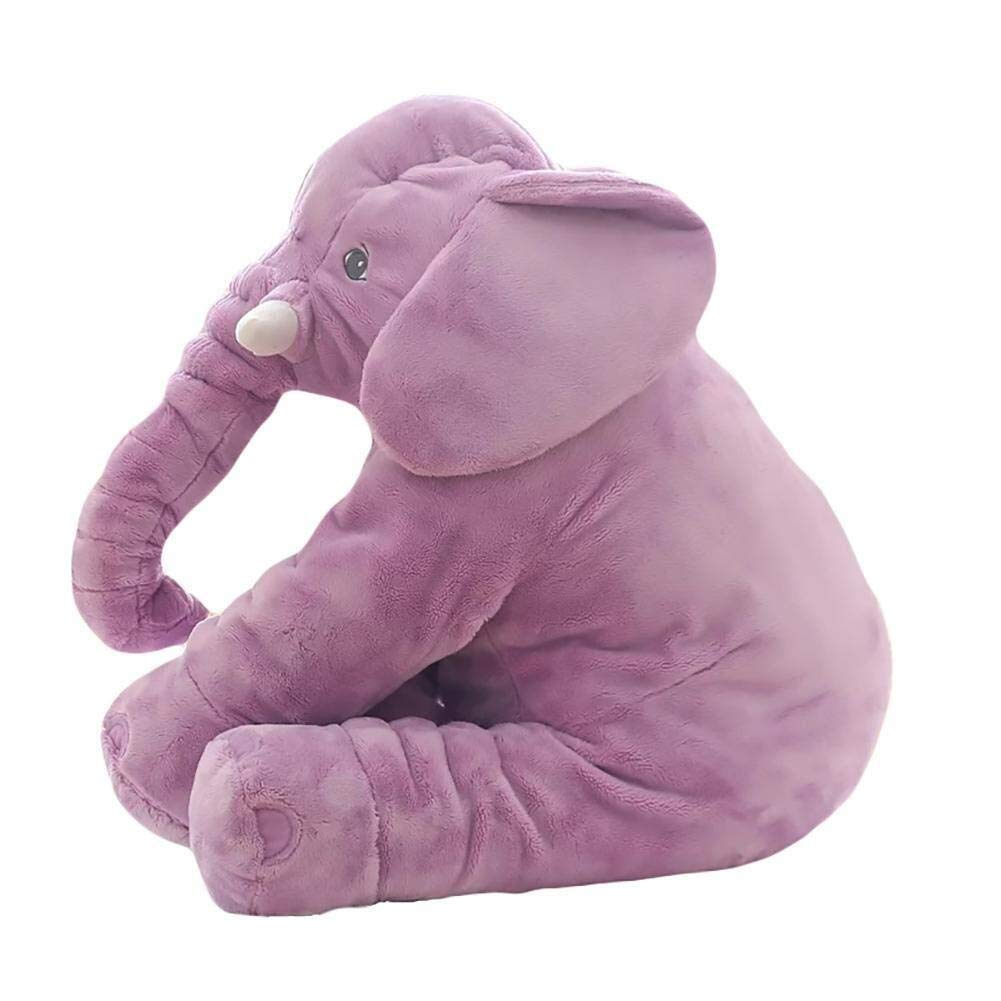 ETERLY Baby Elephant Stuffed Plush Pillow Toy Elephant Stuffed Plush Pillow Kids Elephant Pillow Comfort Toy Suitable for Children to Play (Color : 2) by ETERLY