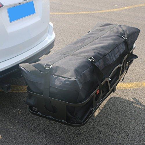 Thxbyebye Water-resistant Oxford Fabric Cargo Carrier Bag Black by Thxbyebye (Image #2)