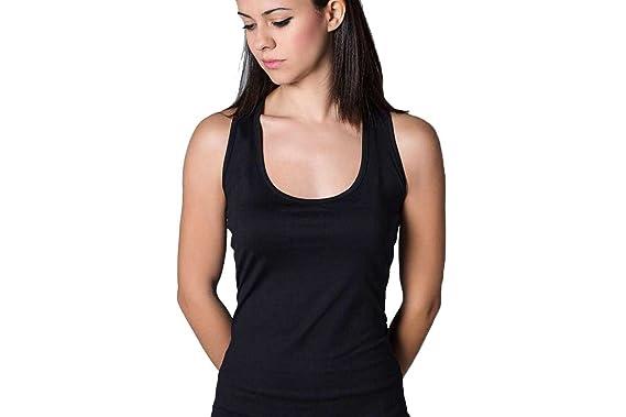 Camiseta Basica Chica Negra para Tenis Y Padel - XL: Amazon.es: Ropa y accesorios