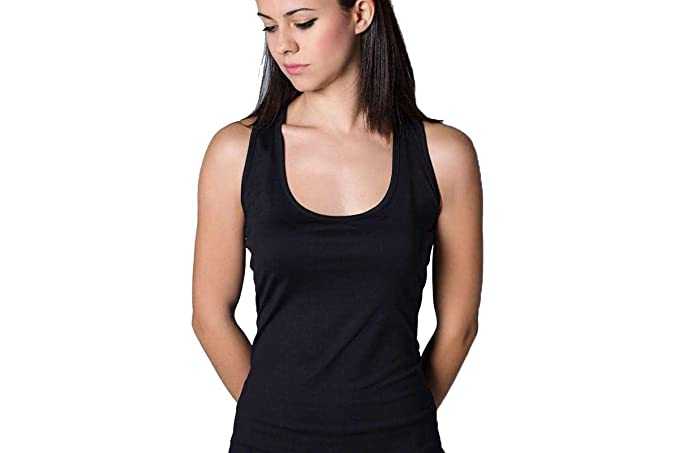Desconocido Camiseta Basica Chica Negra para Tenis Y Padel ...