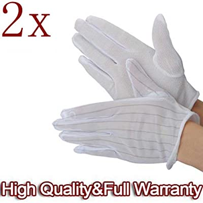 2 X ESD PC Computer Working Anti-static Anti-skid Gloves.