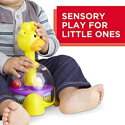 Playskool Giraffalaff Tumble Top toy, 6 months and up: Toys & Games