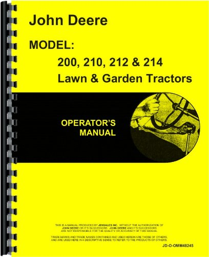 john deere 212 owners manual - 3