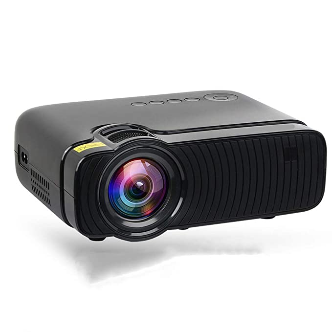 YSCCSY Proyector 2400 lúmenes Mini Android 6.0 WiFi LED HD Video ...
