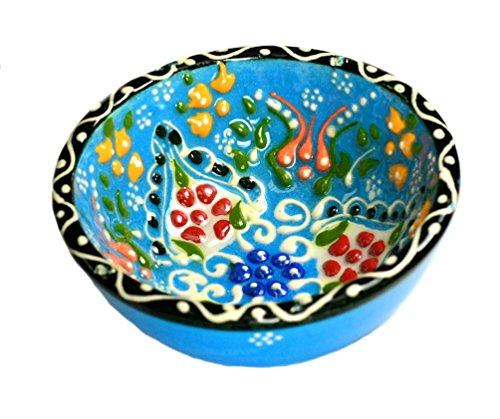 Nazar Turkish Imports ~Hand Painted Ceramic Bowl~d:3 -