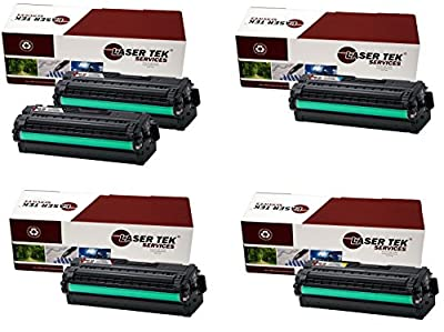 Laser Tek Services® 5 Pack Replacement Samsung CLT-506L High Yield Toner Cartridges (2 CLT-K506L,1 CLT-C506L,1 CLT-M506L,1 CLT-Y506L) for the Samsung CLP-680ND, CLX-6260FD, CLX-6260FW