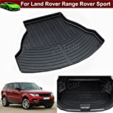 1pcs New Leather Car Rear Trunk Cargo Mat Cargo Liner Cargo Tray Boot Mat Boot Liner Boot Tray Custom Fit For Land Rover Range Rover Sport 2013 2014 2015 2016 2017