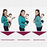 Ecosusi Classic Front and Back Baby Carrier Bild 6
