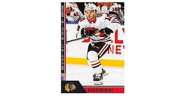 Amazon.com  2018-19 Panini NHL Stickers  326 Alex DeBrincat Chicago  Blackhawks Hockey Card  Collectibles   Fine Art 0af2dc021