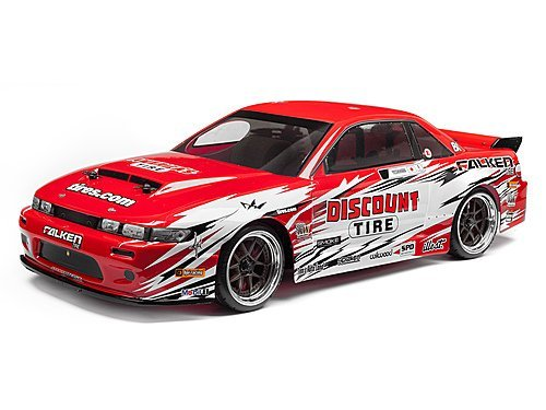 HPI RACING 113086 Nissan S13/Discount Tire Painted Nitro 3 Body by HPI Racing