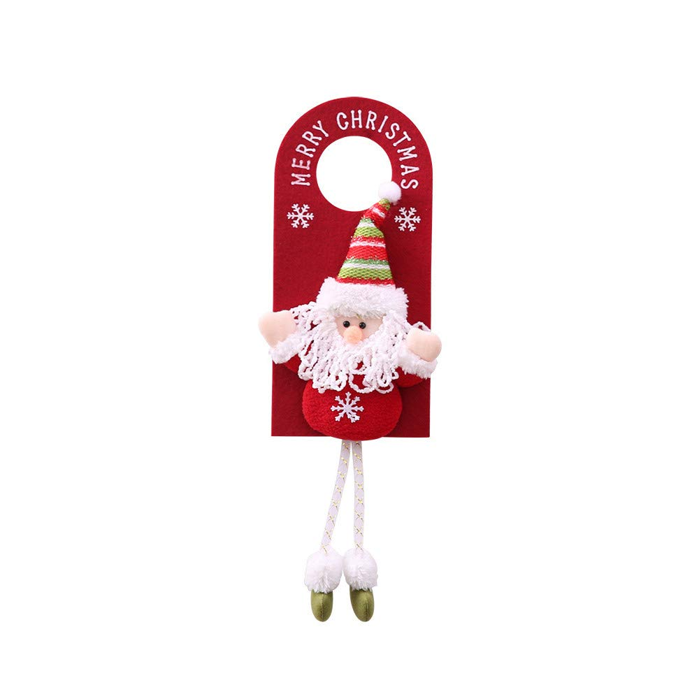 BOLUOYI Merry Christmas Ornament Home Decoration Tree Door Hang Children Gifts Nonwoven