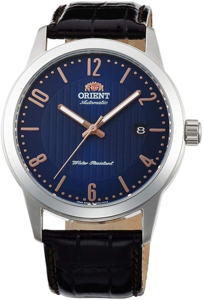 Orient Reloj Analógico para Unisex Adultos de Automático con Correa en Cuero FAC05007D0