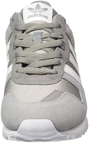 Adidas Herren Zx 700 Sneaker Grau (ch Solido Grigio / Ftwr Bianco / Mgh Grigio Solido)