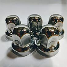 Alcoa, Lug Nut Covers (5 pieces) Hide a Lug, 19mm, Stainless Steel, 000135, 000120, Winnebago, Pleasure Way, Roadtrek - Set of 5 LugNuts, 2015 through 2006 - NOT FOR 2016+