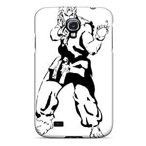 DannyLCHEUNG Samsung Galaxy S4 Scratch Protection Phone Cases Unique Design Lifelike Marilyn Manson Band Series [Ggl4162ApTW]