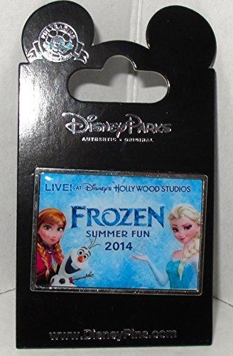 - Disney Hollywood Studios Frozen Summer Fun 2014 Pin with Elsa Anna and Olaf