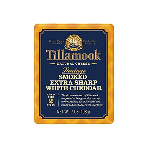 Tillamook Smoked Vintage Extra Sharp White Cheddar Aged 2 Years, 7 oz.