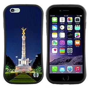 """Hypernova Slim Fit Dual Barniz Protector Caso Case Funda Para Apple (5.5 inches!!!) iPhone 6 Plus / 6S Plus ( 5.5 ) [Arquitectura""""]"""