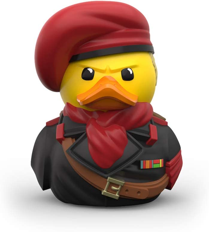 Unique Limited Edition Collectors Vinyl Gift TUBBZ Metal Gear Solid Ocelot Collectible Rubber Duck Figurine Official Metal Gear Solid Merchandise