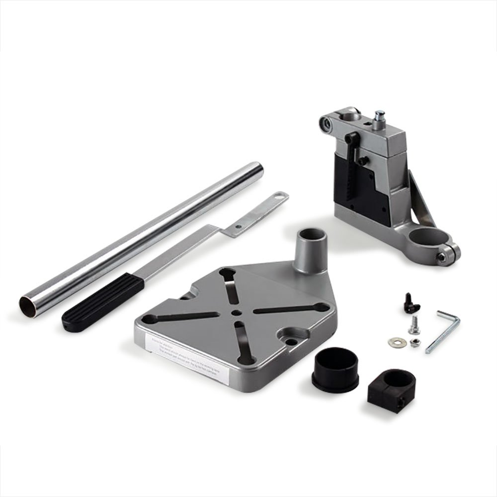 NUZAMAS Upgraded Drill Press Stand Tool Work Station Mountable Stand for Power Drill Workbench Repair Drilling Table Tool