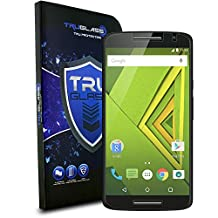 TRUGLASS 0.3mm Tempered Glass Screen Protectors for Moto X Play-Retail Packaging