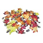 Nikkis-Knick-Knacks-Artificial-Fall-Maple-Leaves-and-Acorns