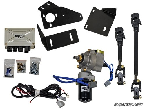 can am commander power steering - 3