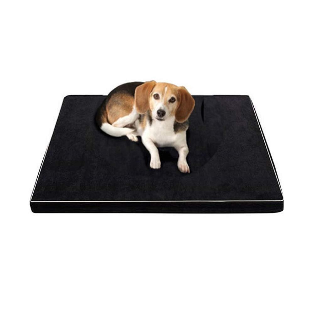 Yzibei Comodo Rimovibile e Lavabile Memory Foam Dog Pet Pad Pad Pad Dog Nest Lettiera Labrador Pet Lair (Dimensione   M) 242f48