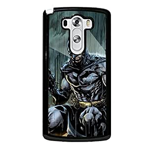 Customized Batman Hard Plastic Cover Case with Batman Logo Snap on LG G3