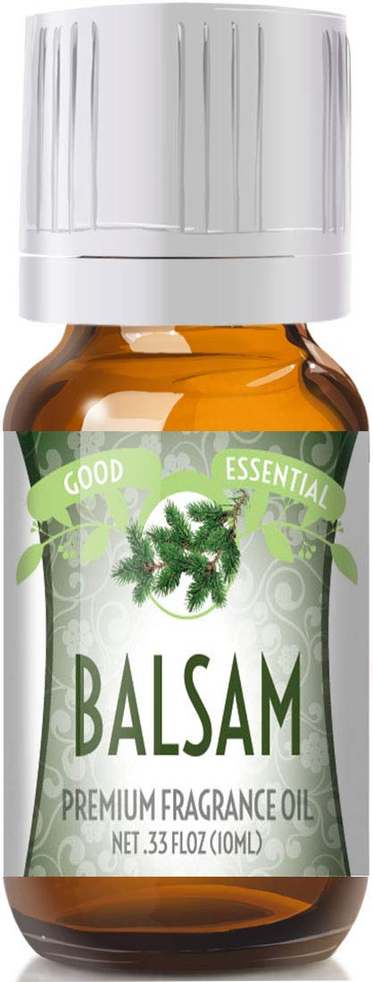 Balsam Scented Oil by Good Essential (Premium Grade Fragrance Oil) - Perfect for Aromatherapy, Soaps, Candles, Slime, Lotions, and More!