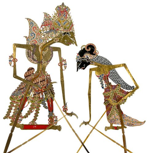 (Inside the Puppet Box: A Performance Collection of Wayang Kulit at the Museum of International Folk Art)