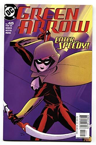 GREEN ARROW #45-1st Mia Dearden as Speedy-DC comic book