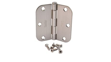 (Pack Of 24) Kesler 3 1/2 Inch Satin Nickel Door Hinges (
