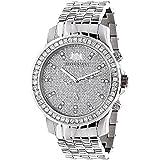 Mens Diamond Diamond Watch 2.5ctw of diamonds by Luxurman