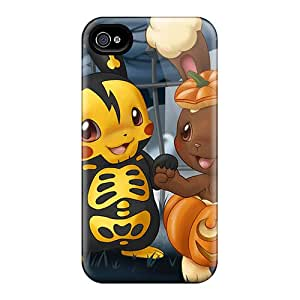 Defender Case With Nice Appearance (pokemon Halloween) For Iphone 4/4s