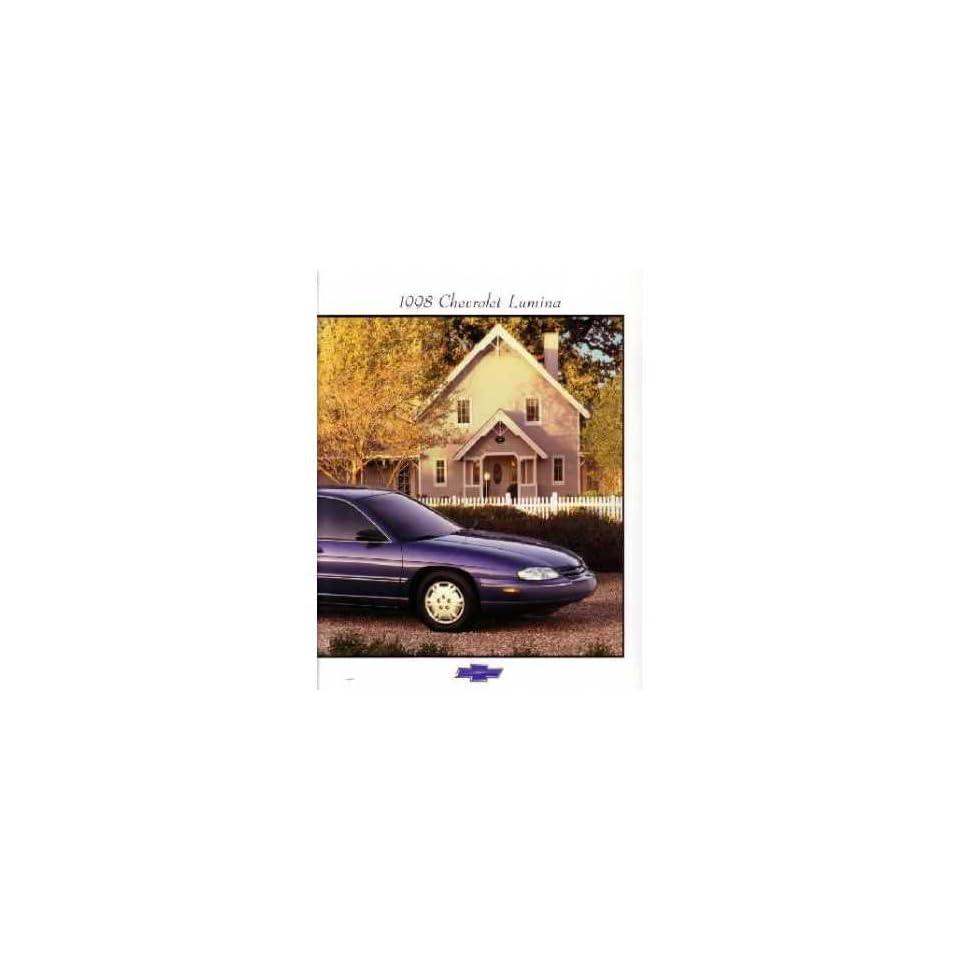 1998 Chevrolet Lumina Sales Brochure Literature Book Options Specification
