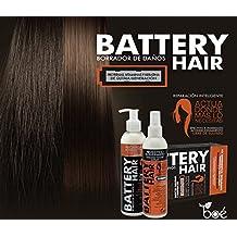 Regenerador capilar Battery Hair 230g cada - Kit Biomimético Inteligente Tratamiento Para el Cabello Dañado, Termoterapia Para Cabello, Reparador Para el Pelo, Acondicionador Profundo