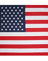 American Flag Bandana By CoverYourHair®