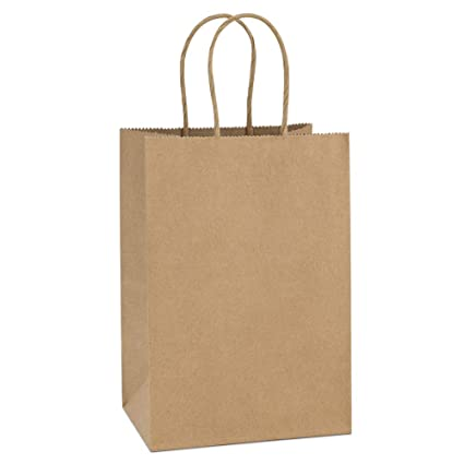 Amazon.com: bagdream Kraft bolsas de papel 50Pcs 5.25