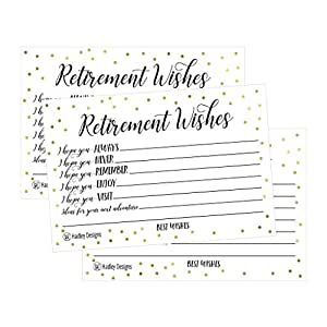 Amazon 25 retirement party advice well wish card for men or greeting cards m4hsunfo