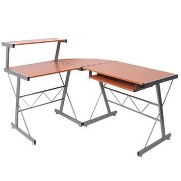 Küche küche rotbuche : Jugend-Schreibtisch Bürotisch Nevada, ca.100x115x140cm ~ Buche ...