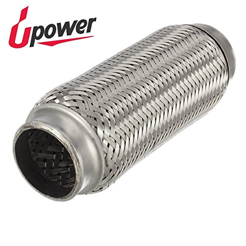 Upower 2 Inch Diameter Exhaust Flex Extension Pipe Connector Tube, 8
