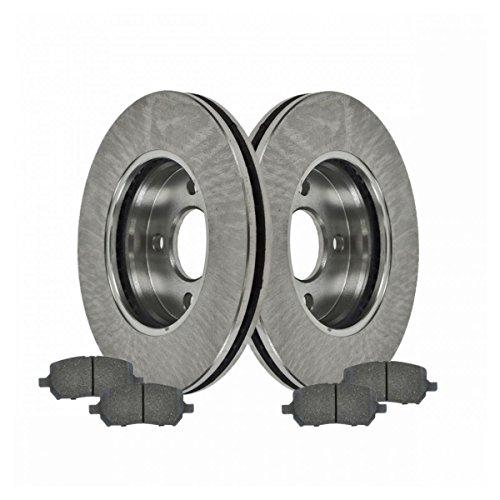Front Ceramic Brake Pads & Rotors Kit Set for Chevy Cobalt G