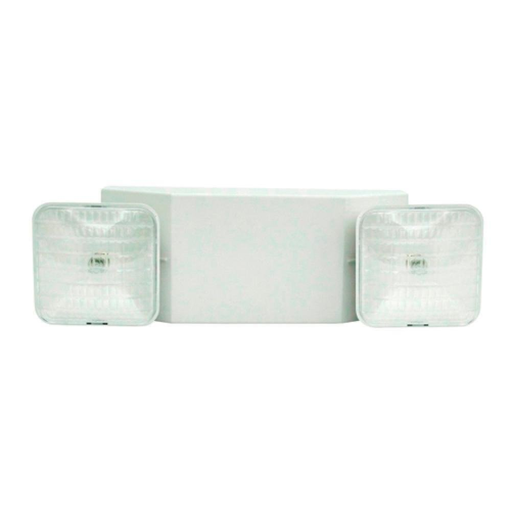 (Pack of 6) TCP 20760US, EMERG LIGHT WH HSING SQUARE HD, Emergency Light Fixtures